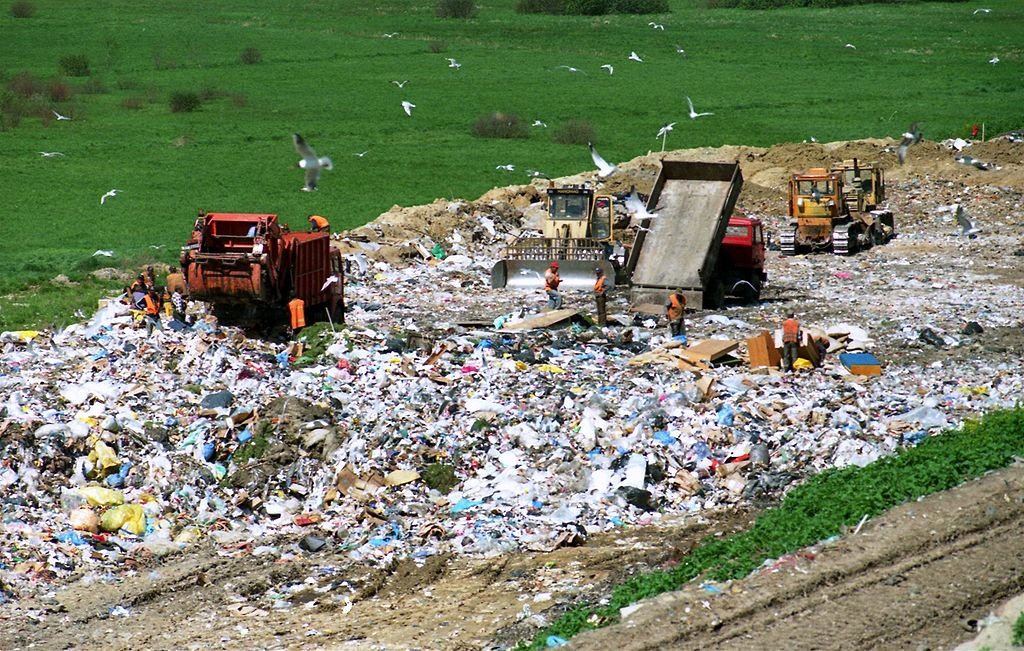 Люди потребляют 100 млрд тонн материалов в год