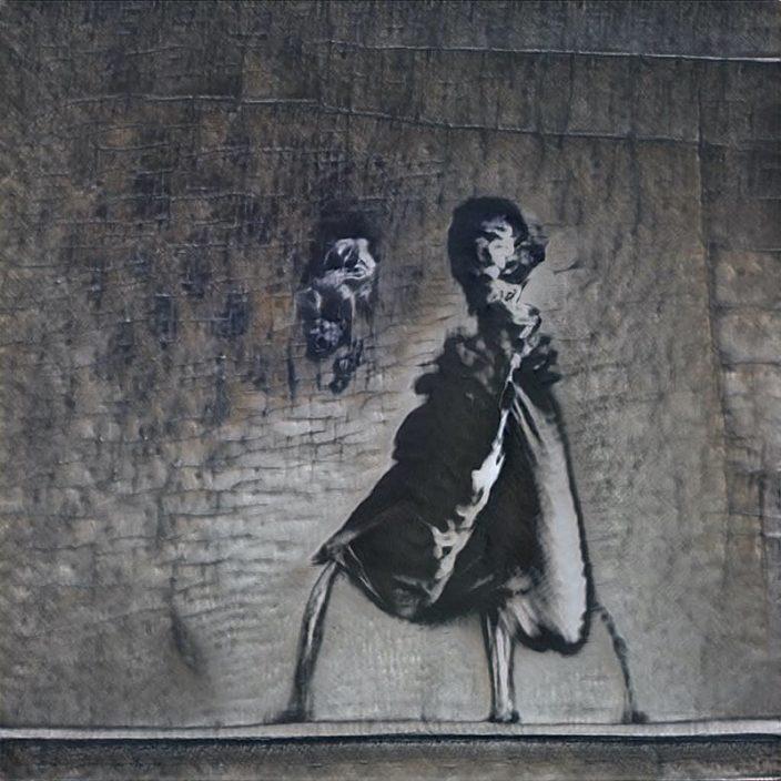 GANksy: Искусственный интеллект стал уличным художником
