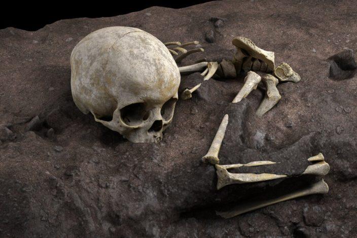 Ученые нашли самую древнюю могилу в Африке